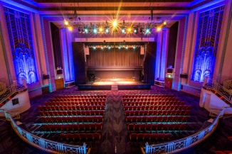 Double stage in the stunning Art Deco Troxy Theatre